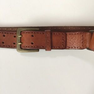 Vintage Fossil Leather Belt. Too Awesome. M